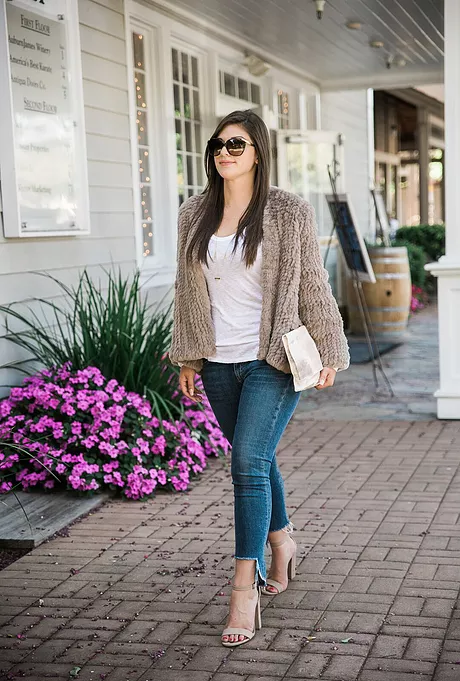 Cozy Faux Fur Jacket