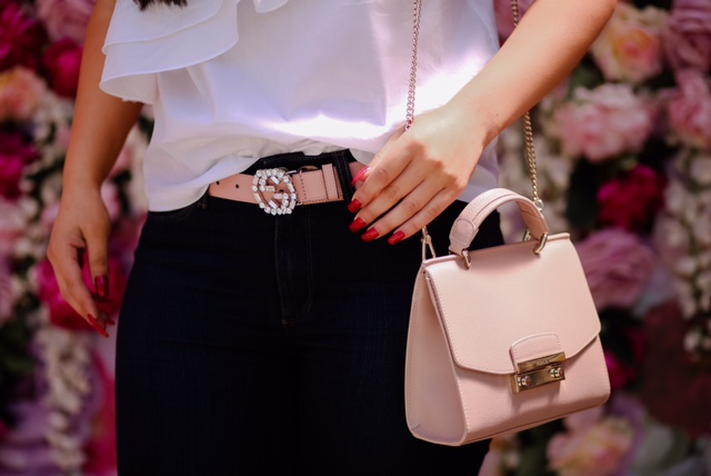 One-Shoulder Tops, Gucci & Furla on Rodeo Drive