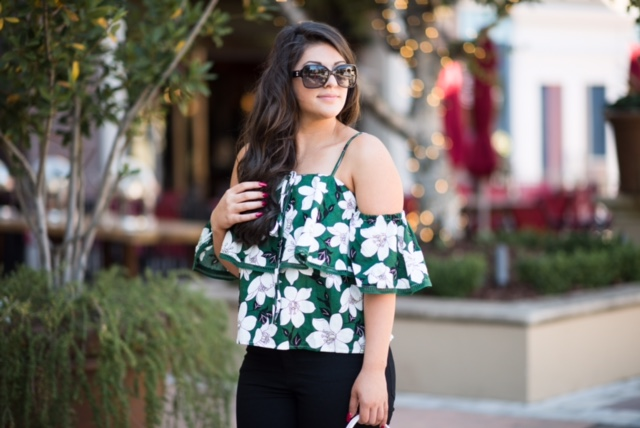 nordstrom cold shoulder top