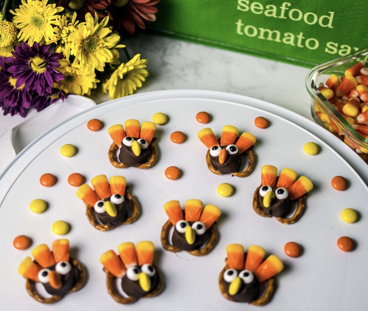 Easy To Make Thanksgiving Turkey Treats