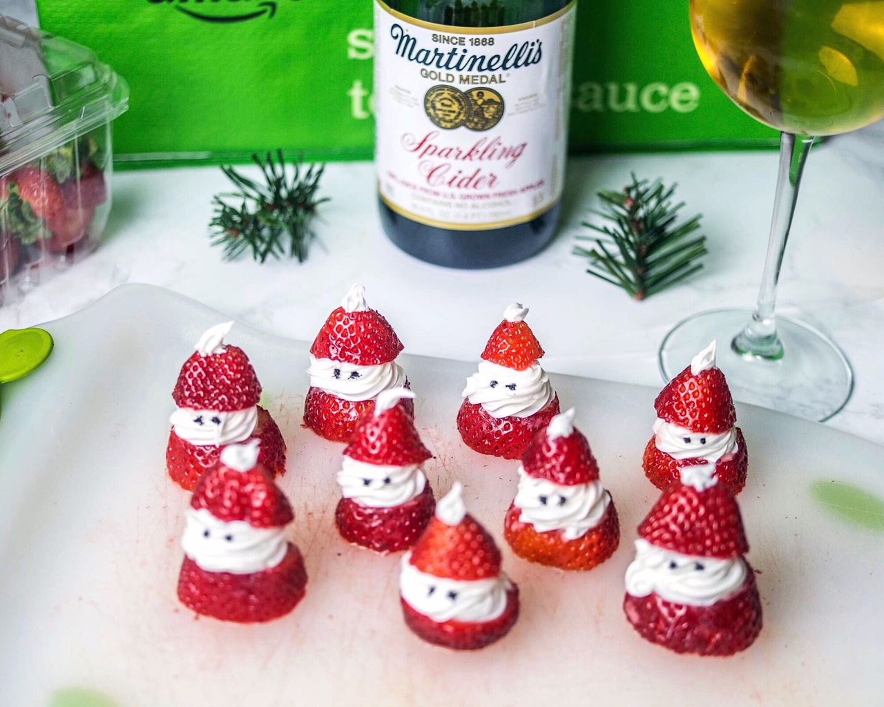 Santa Christmas Desserts – Pinterest Inspired!