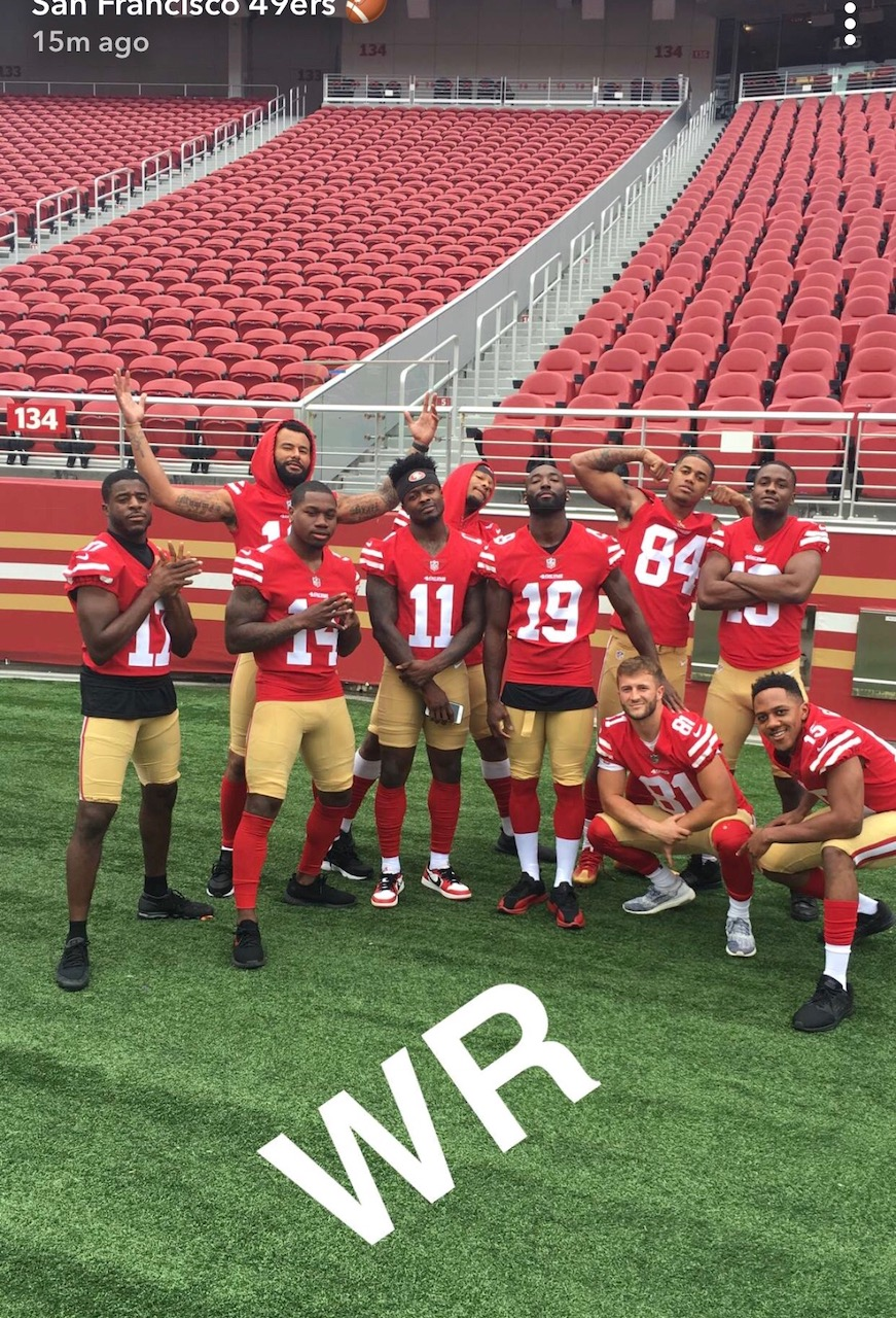 49ers DeAndre Carter - Beyond Casual B