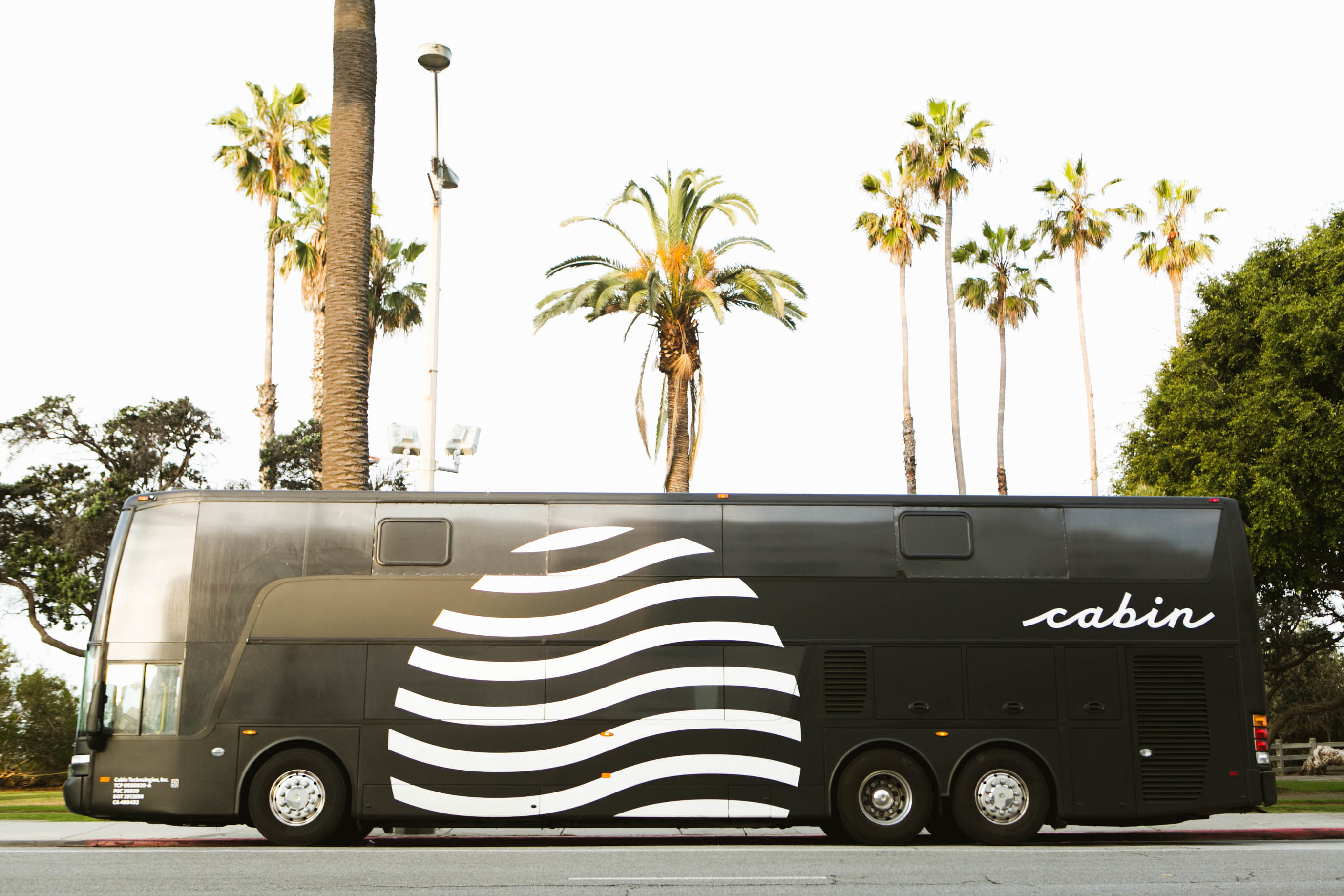 Cabin Luxury Bus From LA to SF