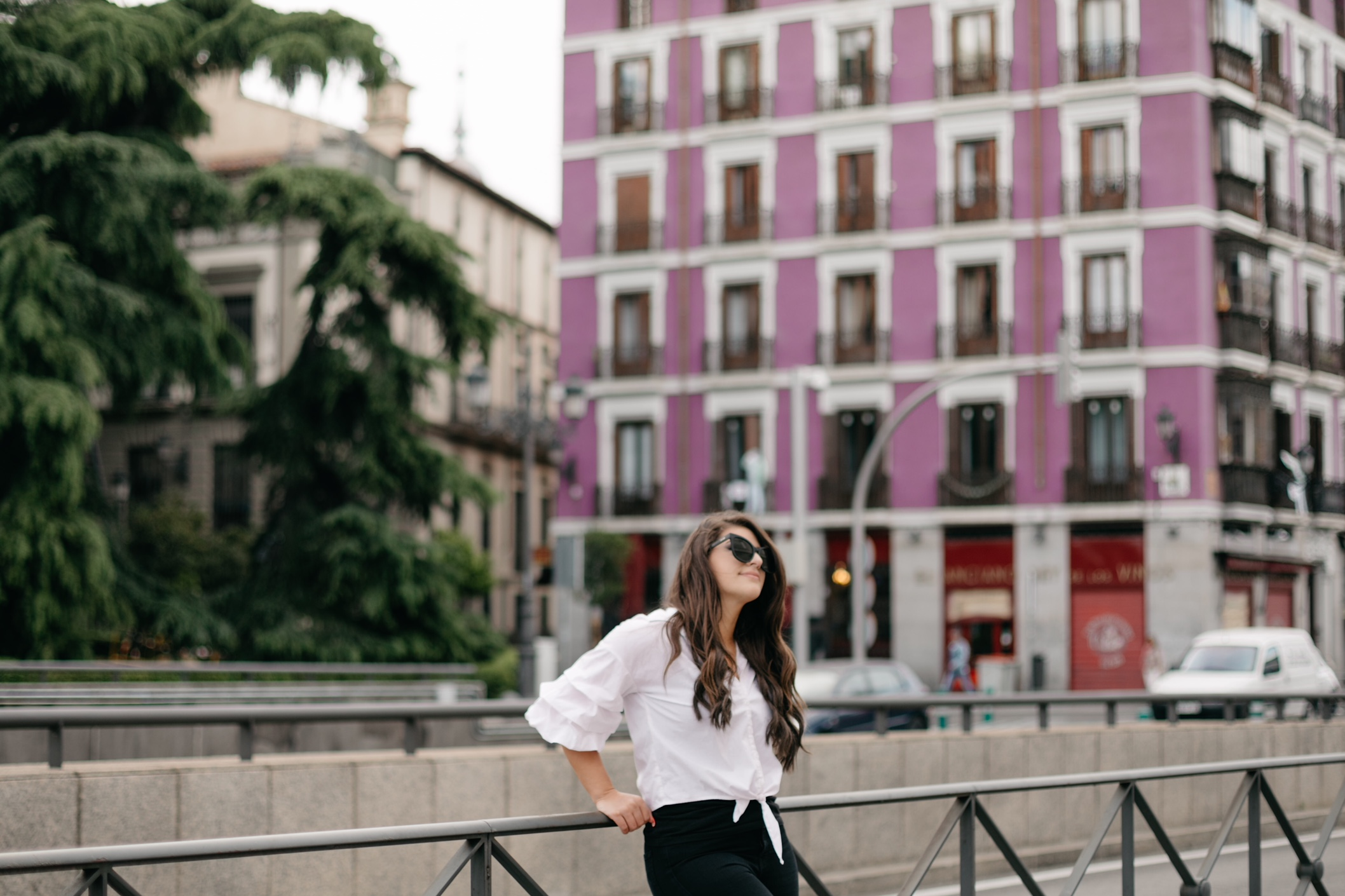 street style in Madrid, Spain