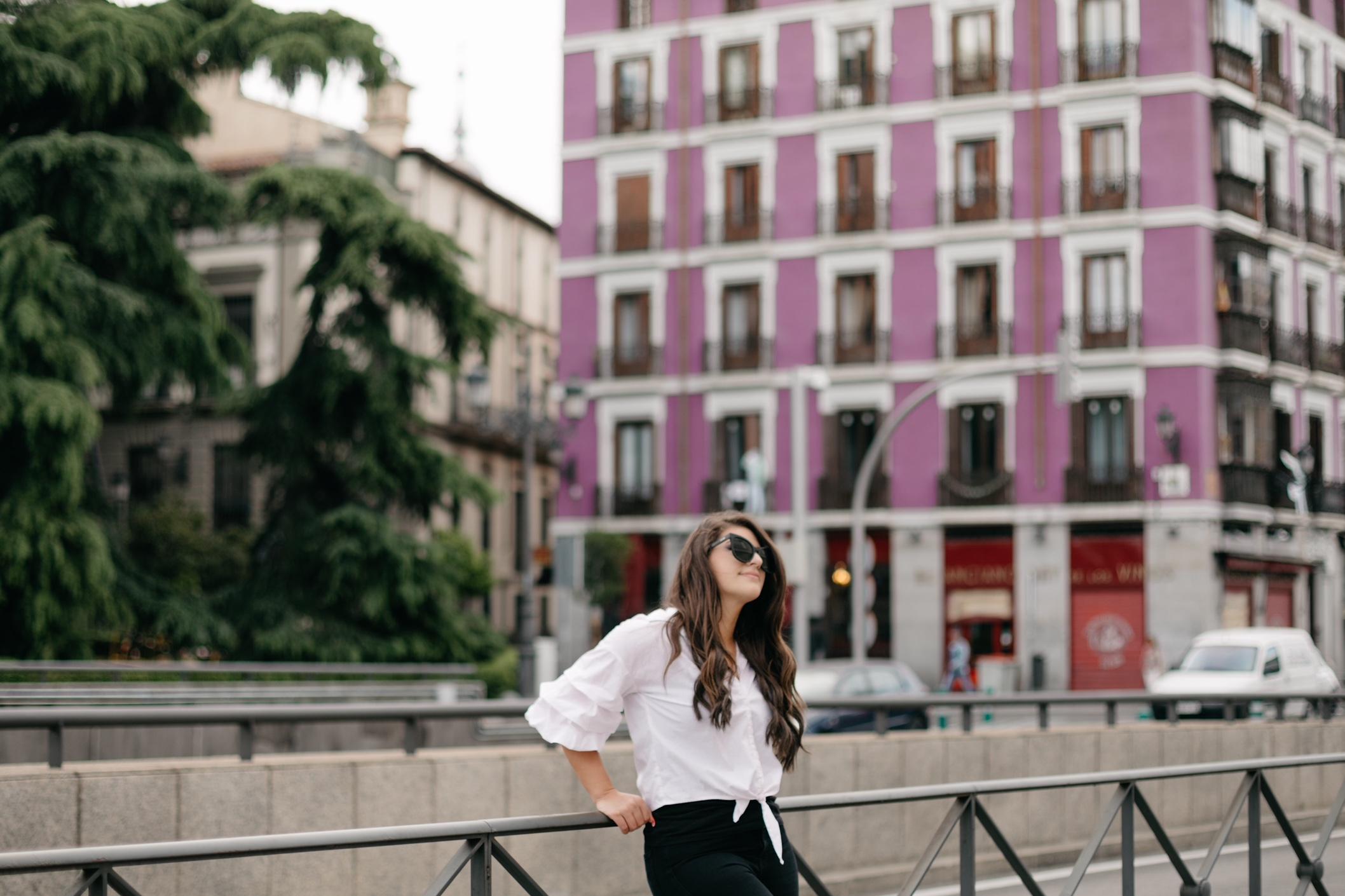 street style in Madrid, Spain