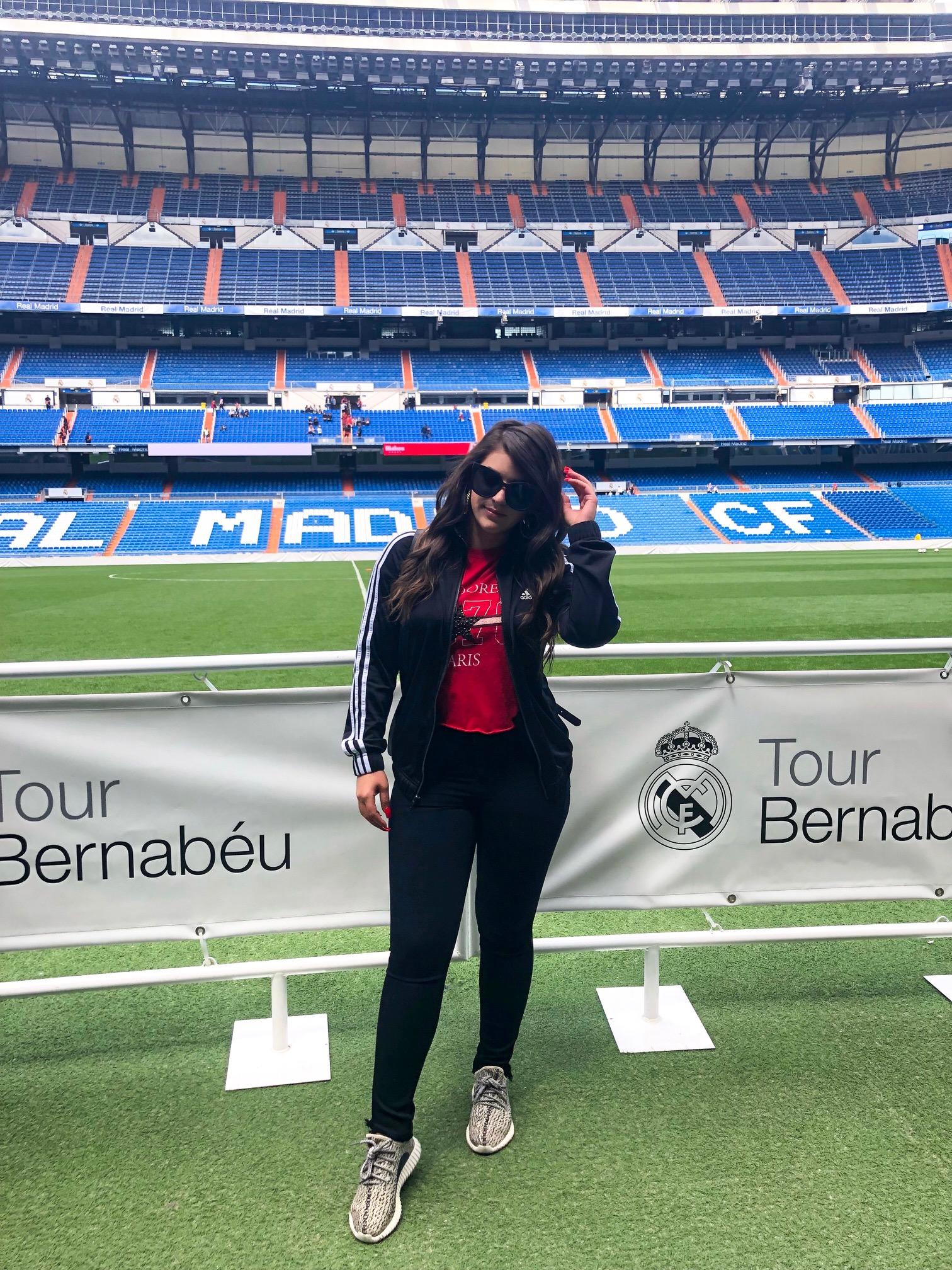 Santiago Bernabeu Stadium - Madrid Spain - Real Madrid - Beyond Casual B