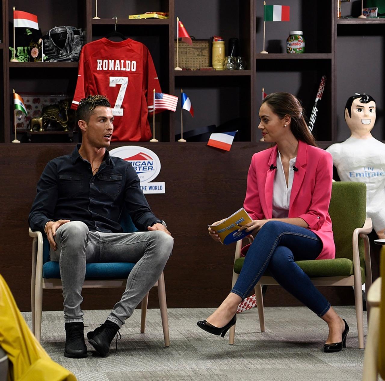 Cristiano Ronaldo - Madrid Spain - Beyond Casual B - American Tourister