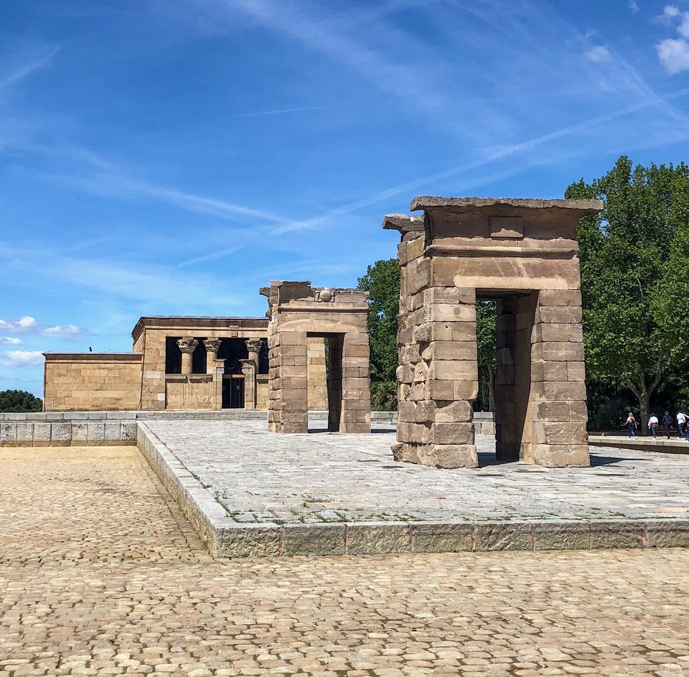 Templo de Debod - Madrid Spain - Ancient Egyptian Temple