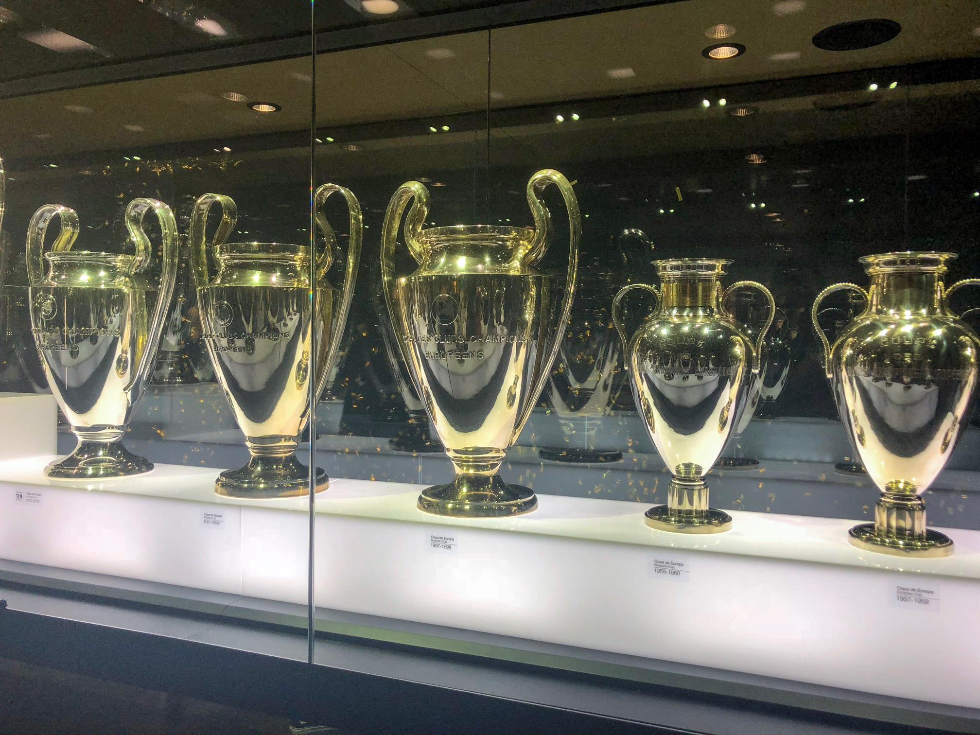 Santiago Bernabeu Stadium - Madrid Spain - Real Madrid