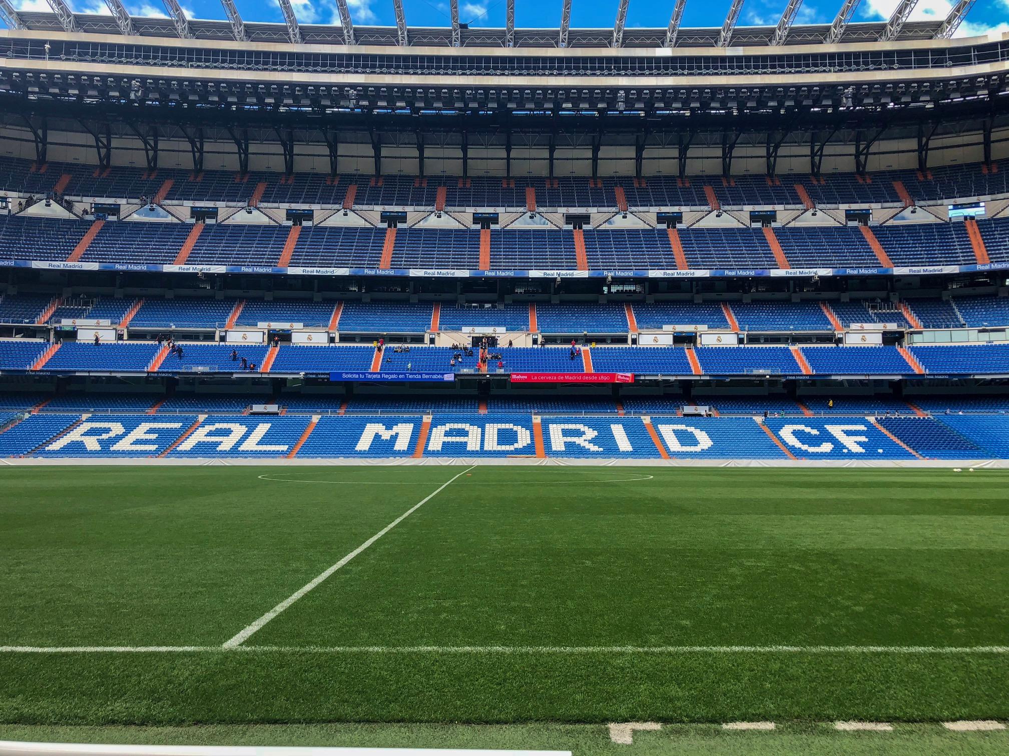 Real Madrid - Madrid, Spain - Santiago Bernabeu Stadium