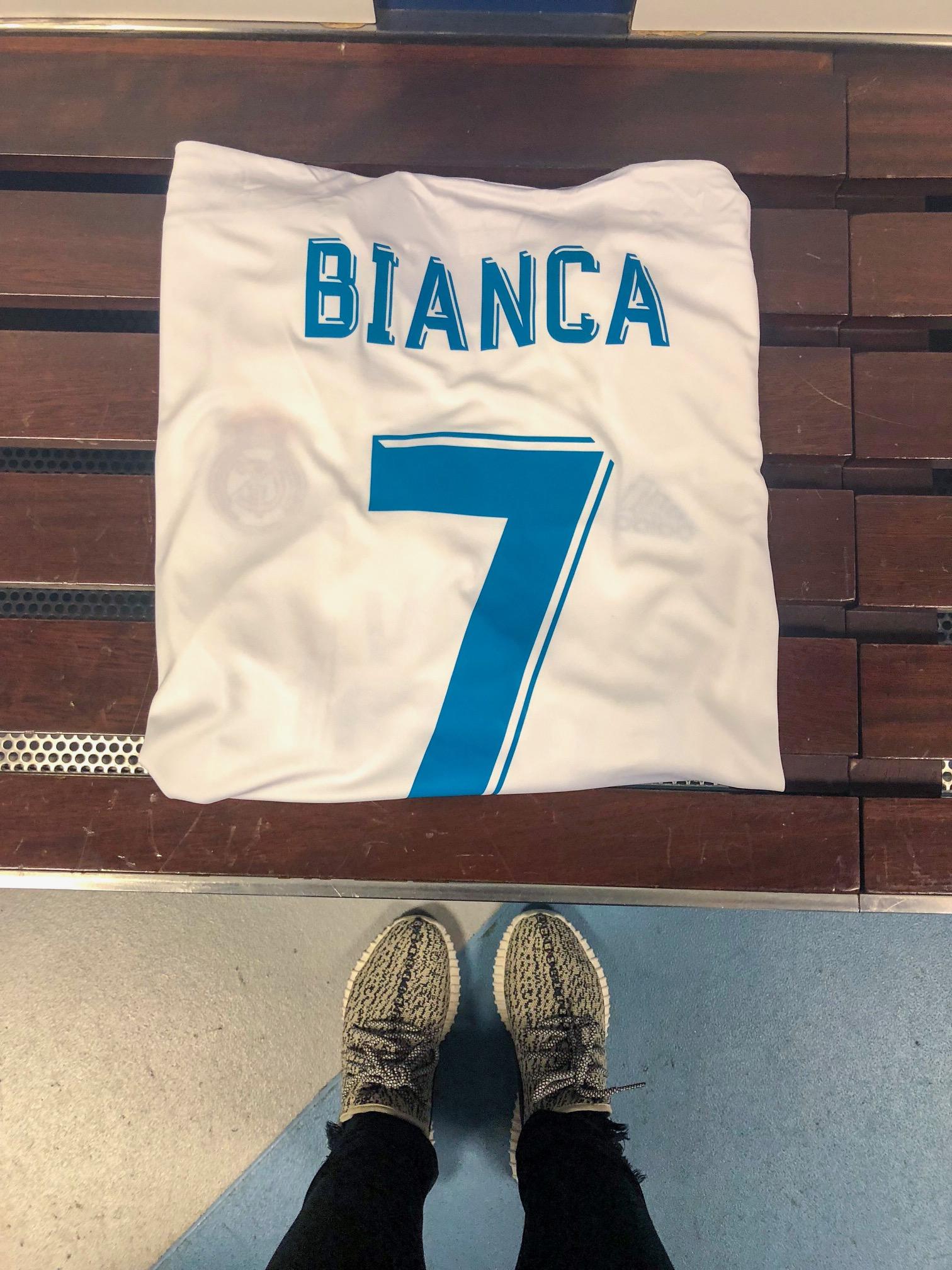Santiago Bernabeu Stadium - Madrid Spain