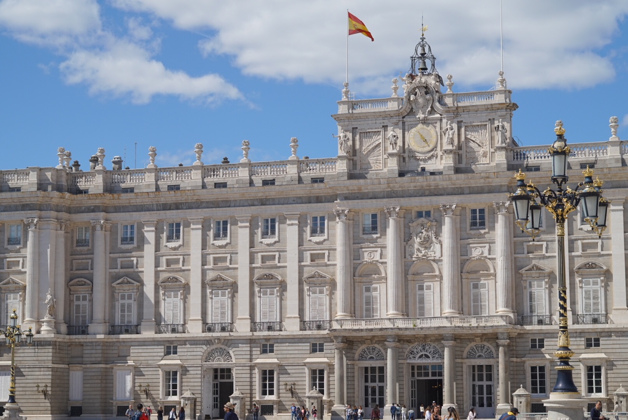 real palace of madrid - madrid, spain
