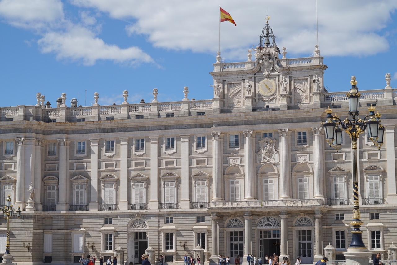 real palace of madrid - madrid, spain
