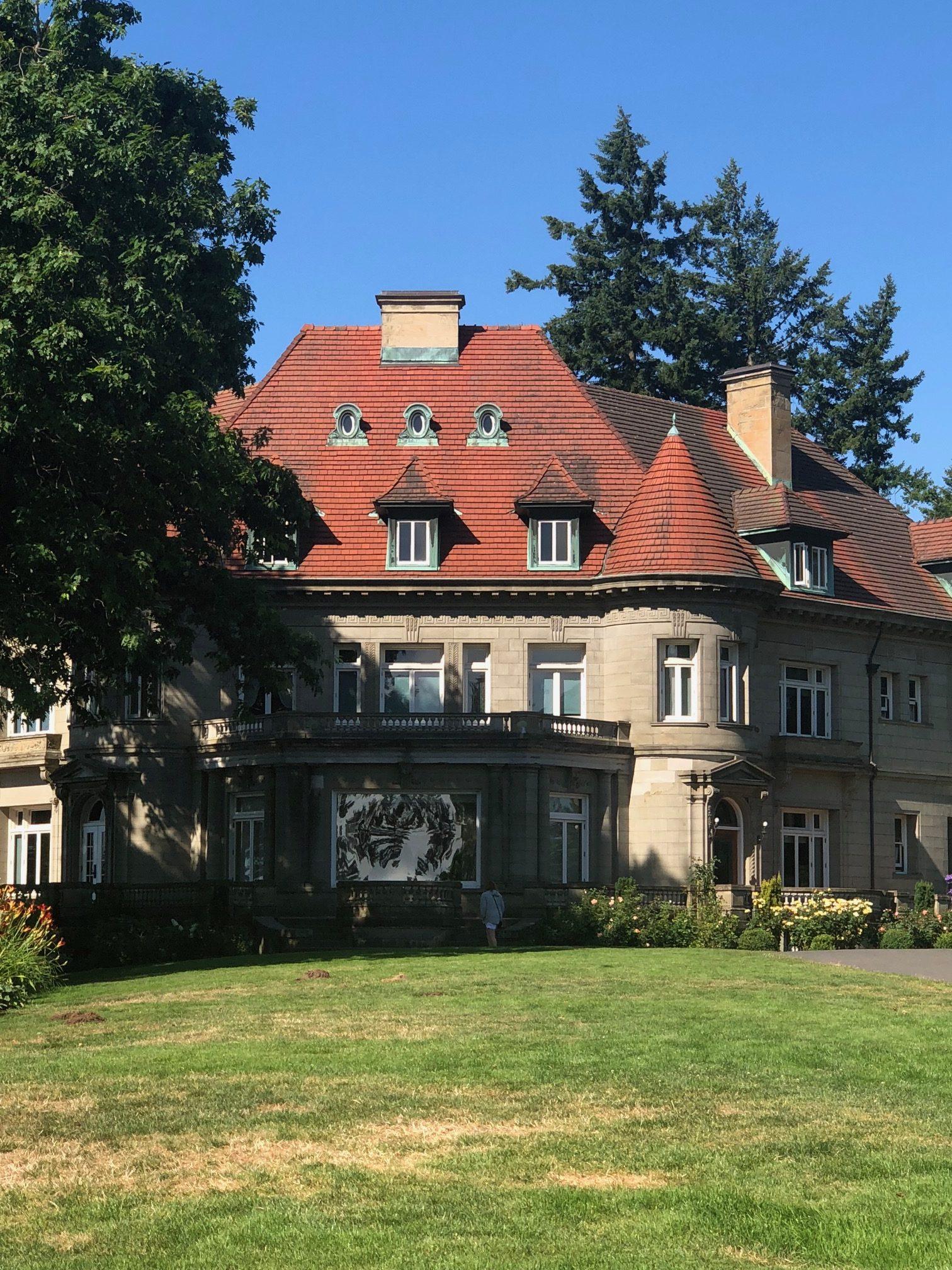 pittock mansion - portland oregon