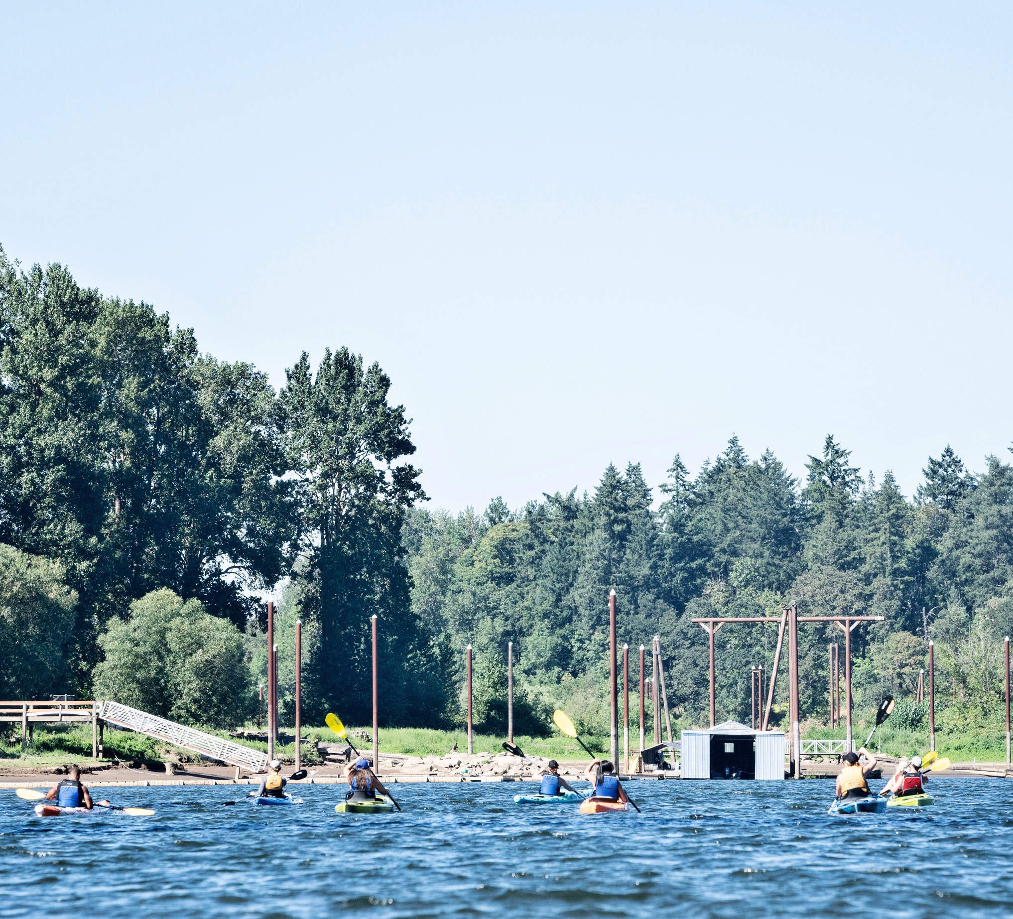 lake oswego - kayaking - orangetheory fitness