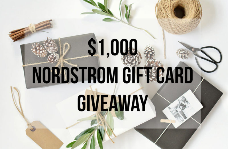 Gift Guide For Her + $1,000 Nordstrom Gift Card Giveaway!