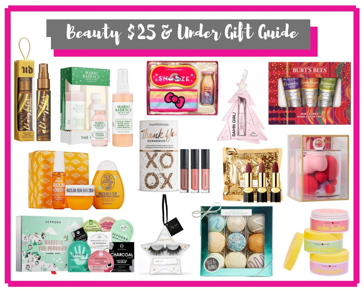 Beauty $25 & Under Gift Guide