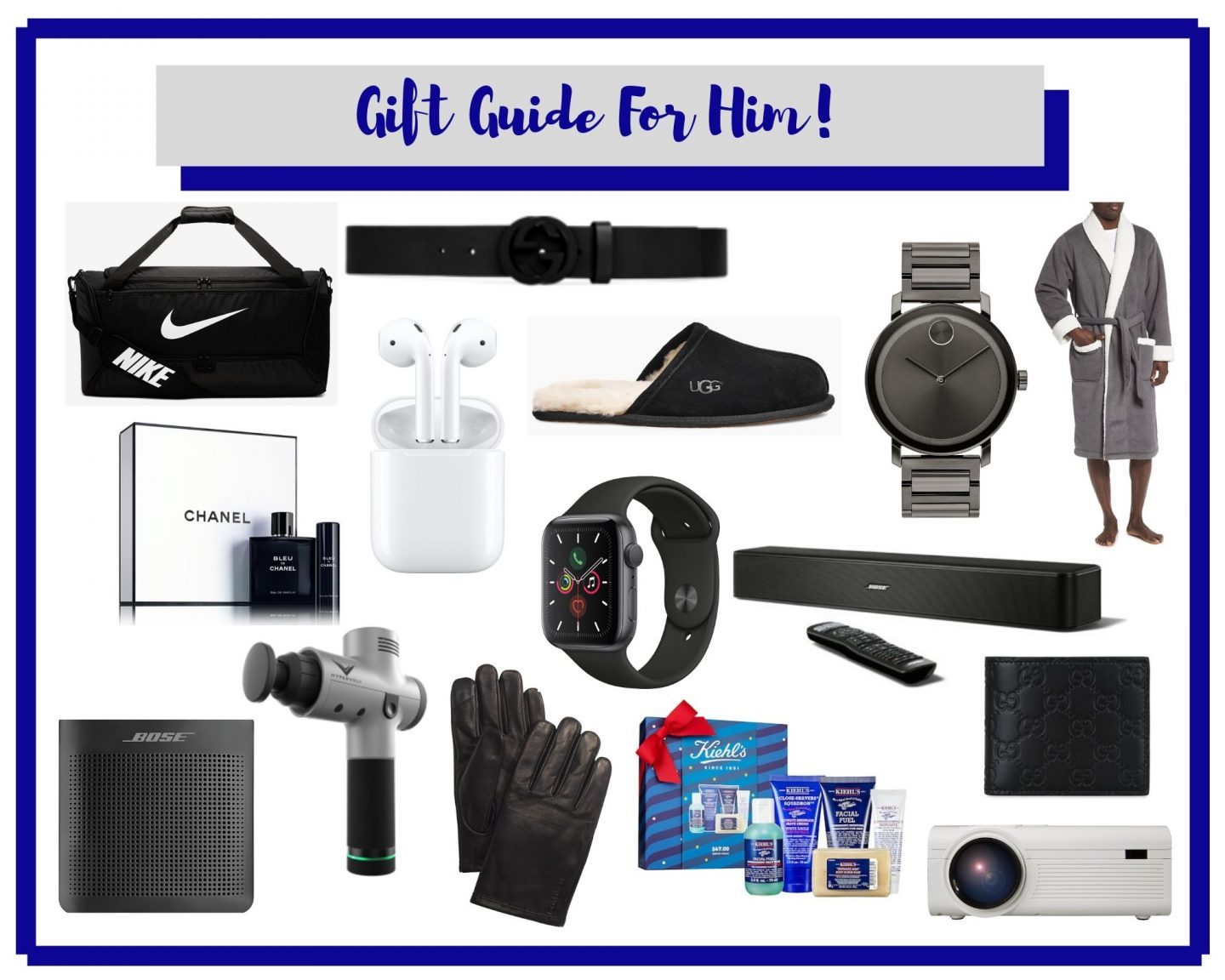 Gift Guide For Him!