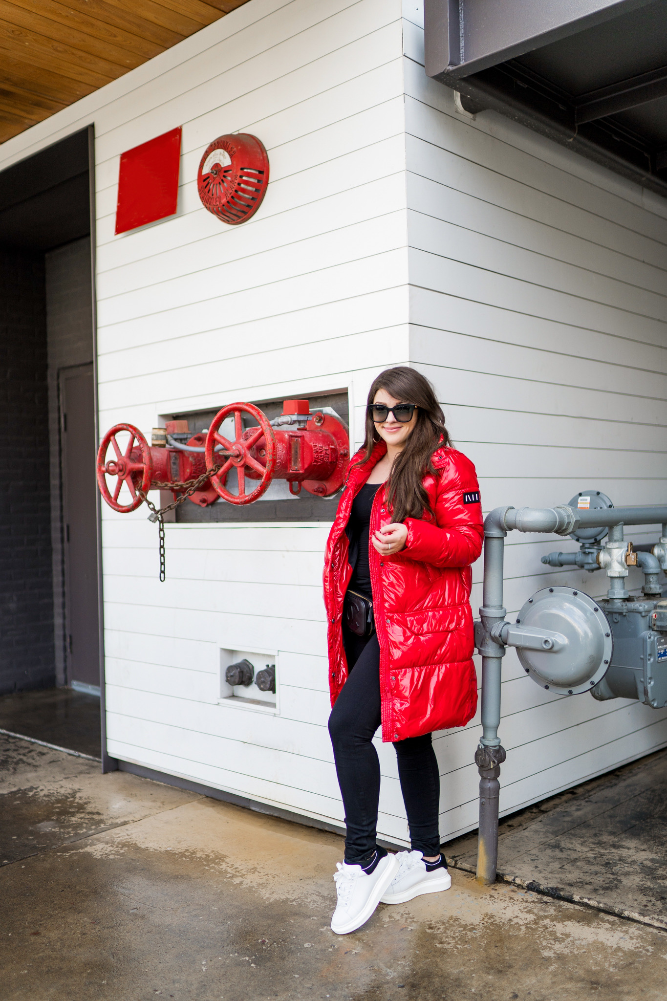 The Red Puffer Coat You Need In Your Closet!