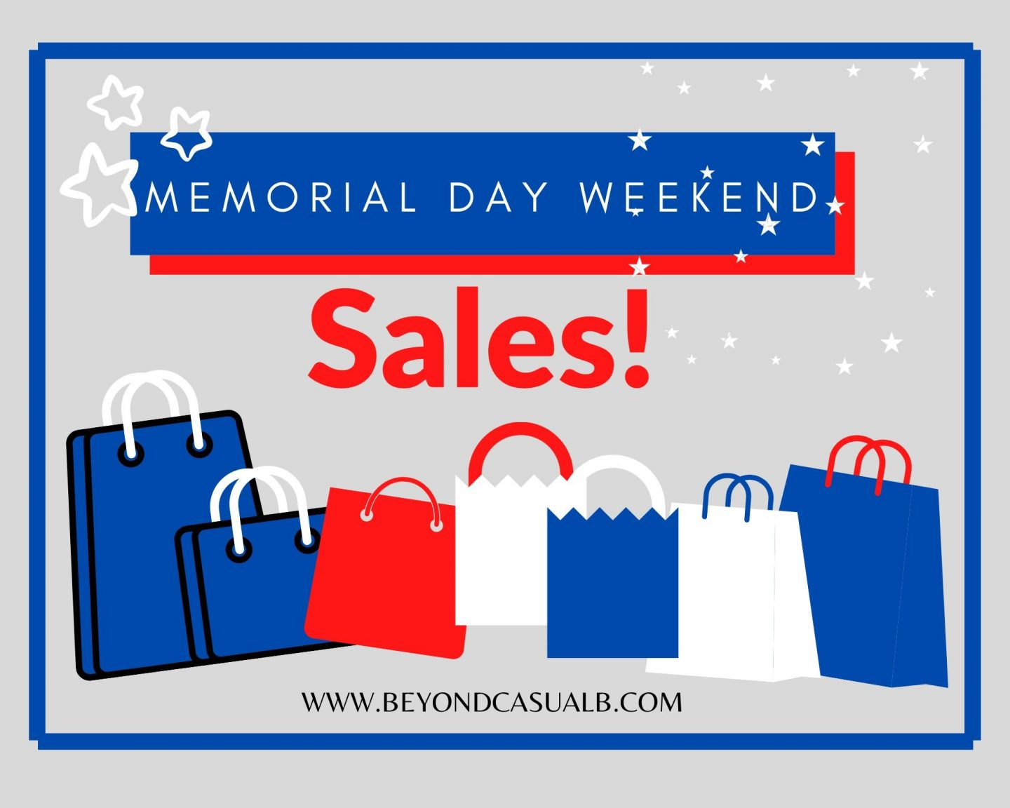 Memorial Day Weekend Sales Roundup!