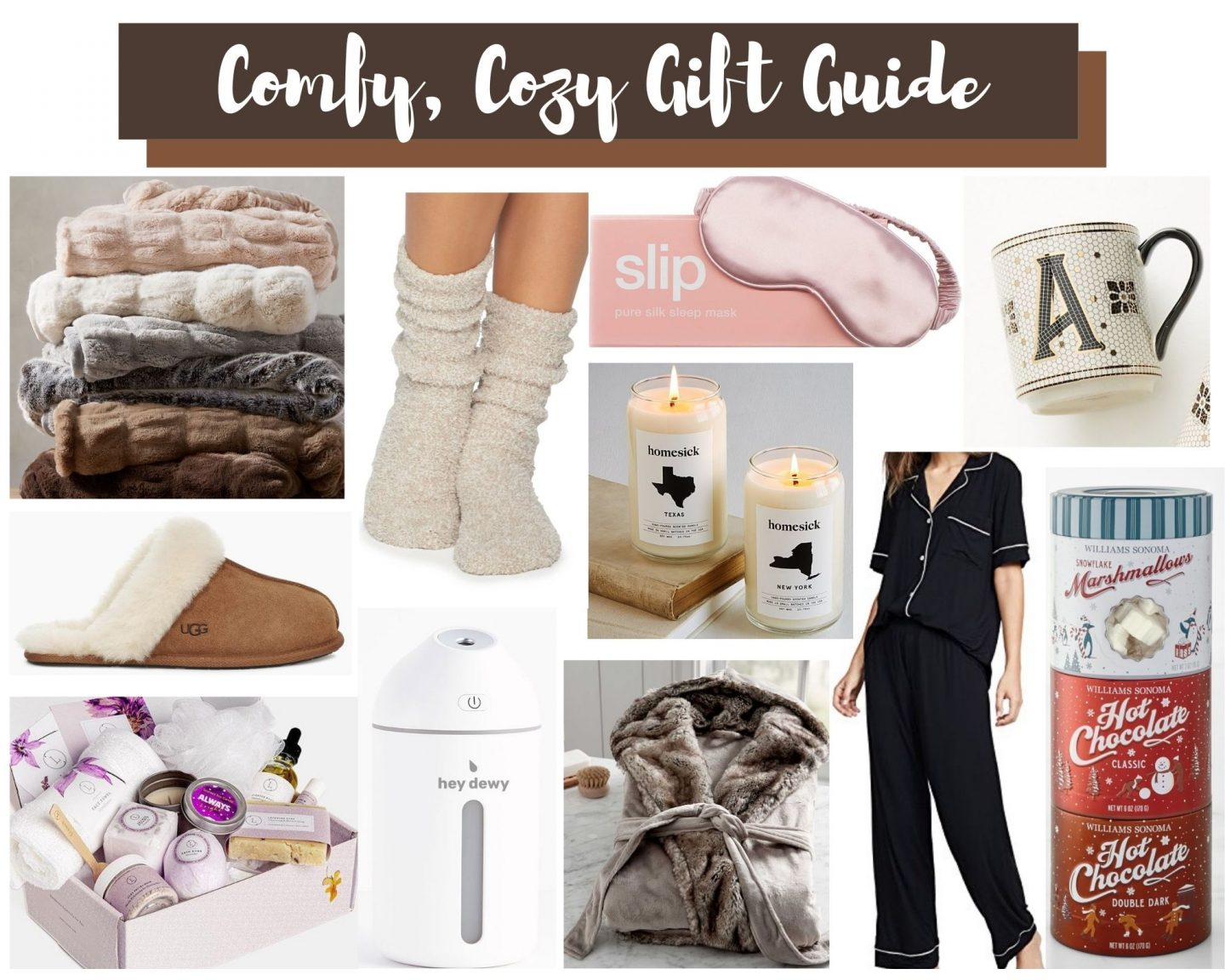 A Comfy, Cozy Gift Guide!