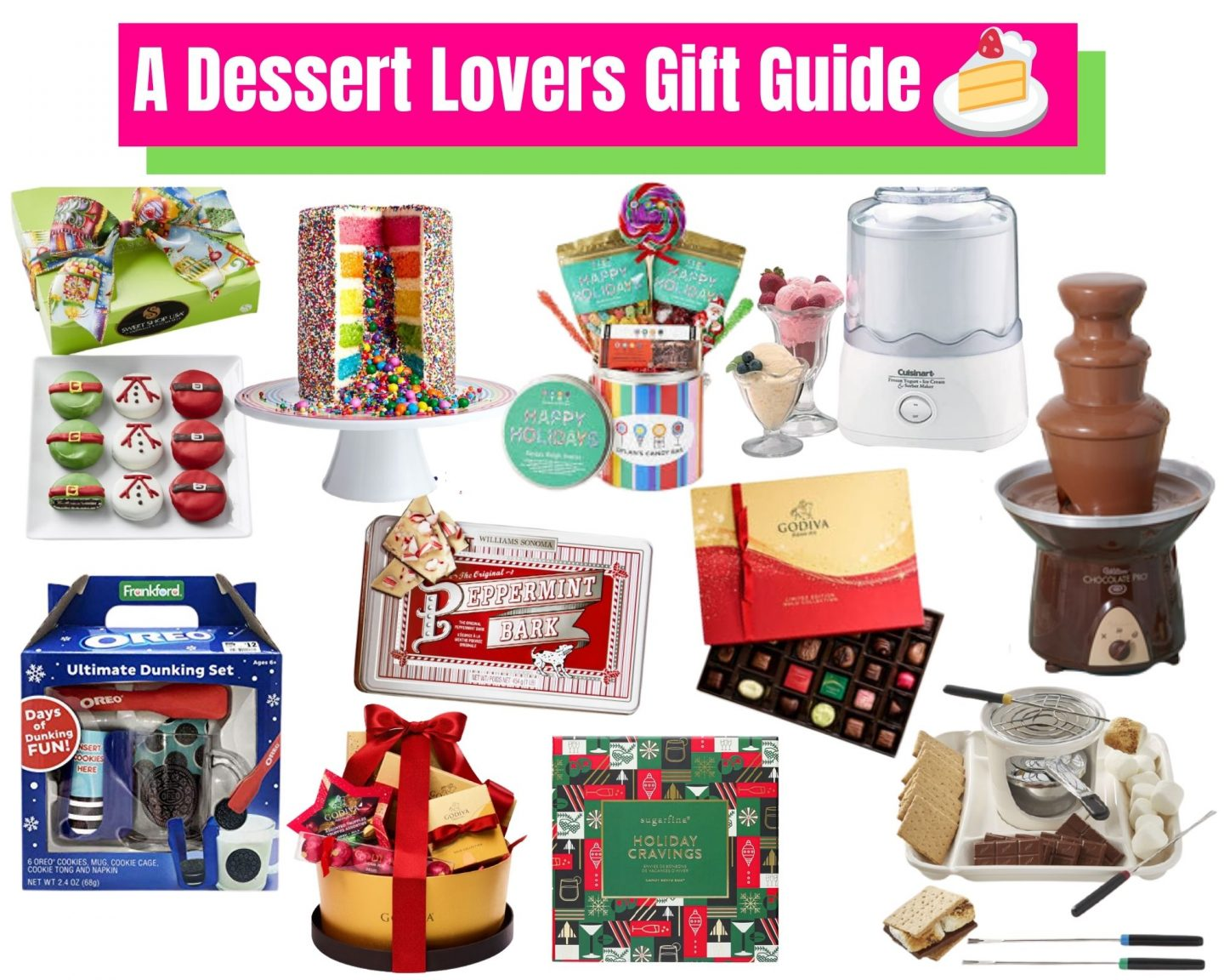 A Dessert Lovers Gift Guide!