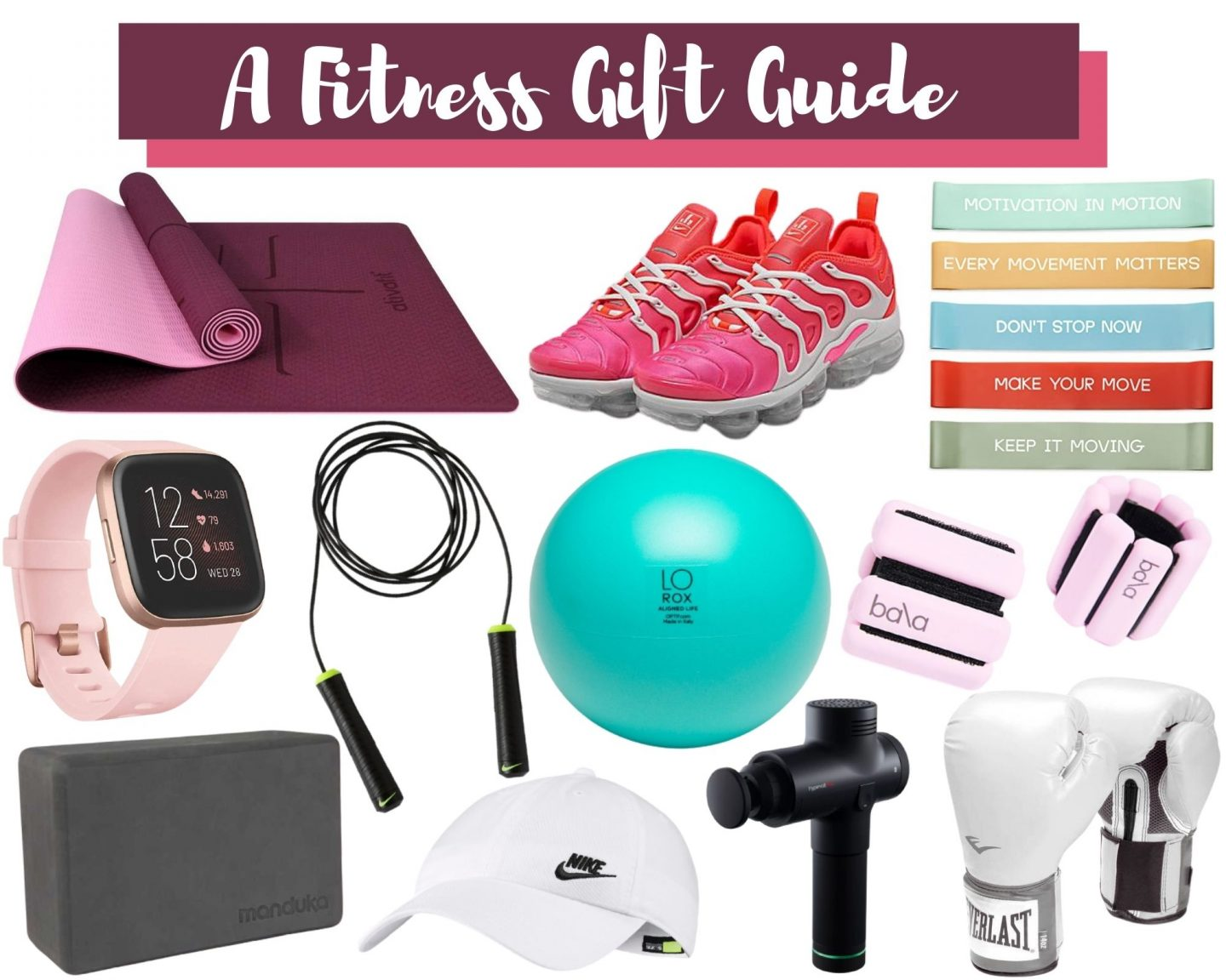 A Fitness Gift Guide!