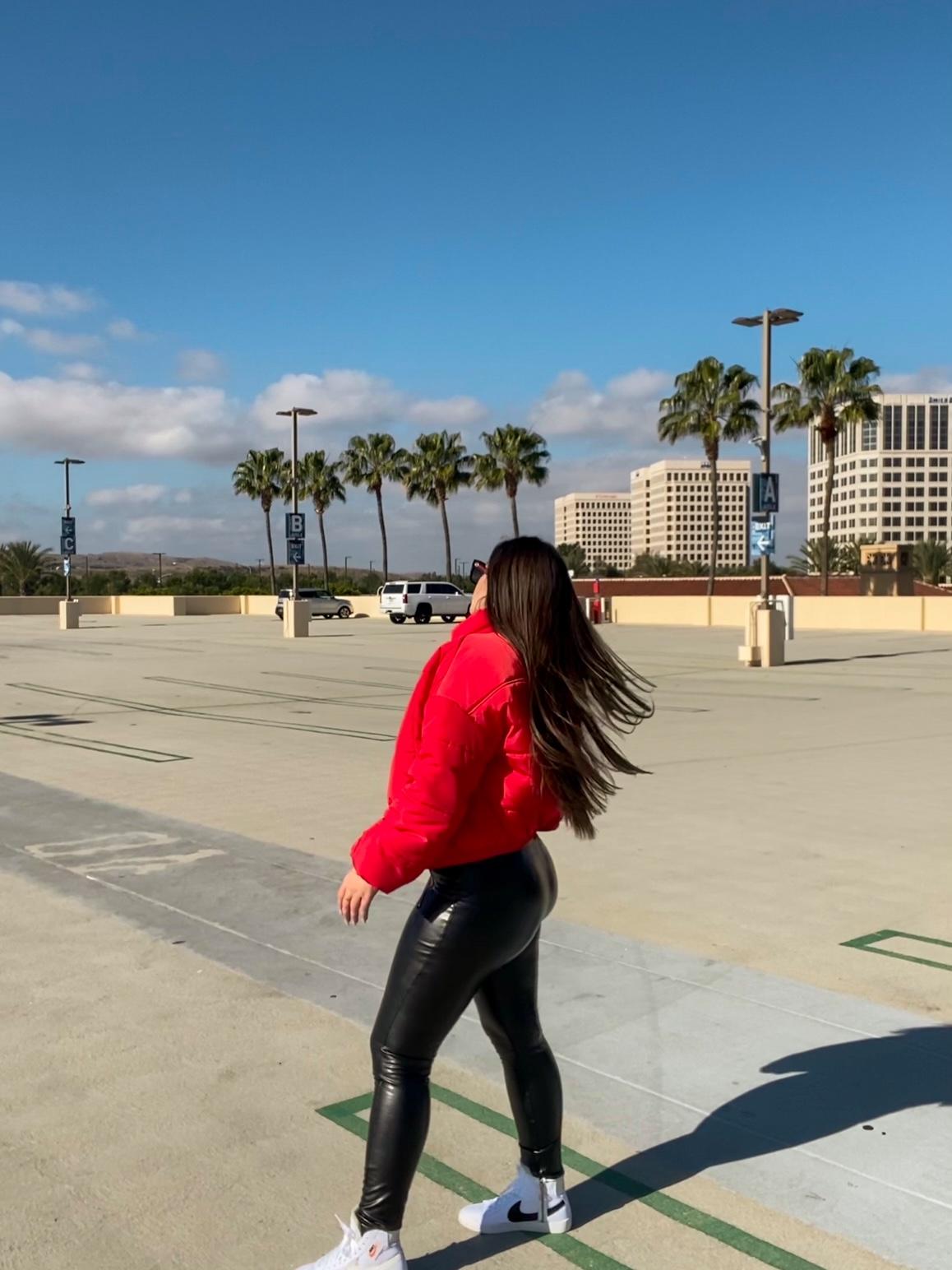 nordstrom puffer coat - Bianca Cortez