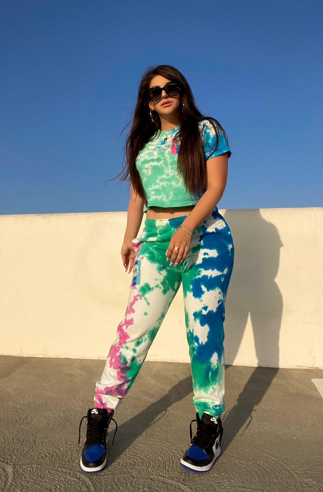 tie-dye streetwear - Beyond Casual B - Bianca Cortez